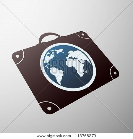 Travel Symbol. Stock Illustration