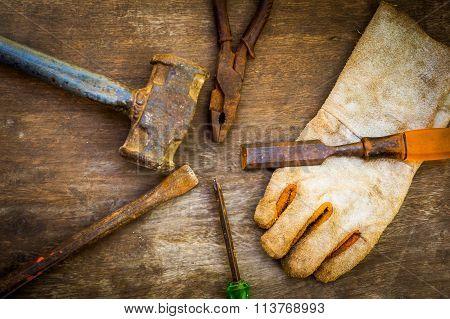 Still Life Of Tools