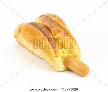 Sausage Hotdog Roll Bun