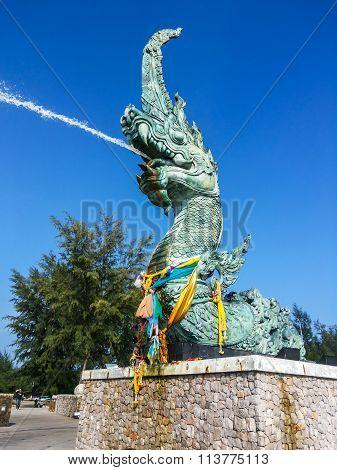 Serpent Blow Water