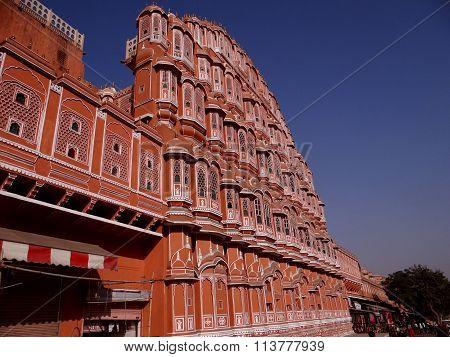 'Palace of The Winds' or Hawa Mahal, Jaipur, India