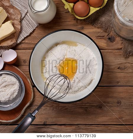 Products For The Preparation Of Dough For Bakery Products