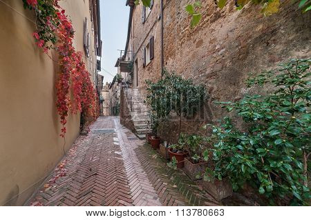 Old Town In Italy