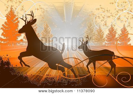 Tranquil Deer