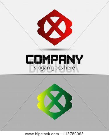 Letter X Logo Design.Creative Symbol of letter X
