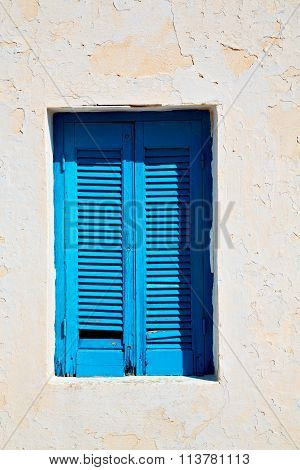 In Santorini Europe Greece  Old Architecture And  Wall