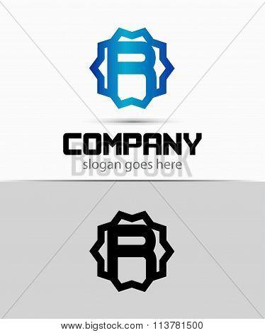 Letter r Alphabetical Logo Design Concepts
