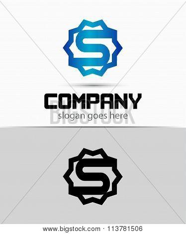 Letter s Alphabetical Logo Design Concepts