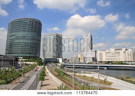 high rise buildings in Yokohama, Kanagawa, Japan