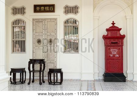 Chinese Furniture And Postbox