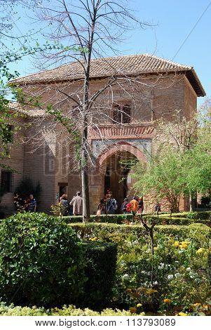 Puerto del Vino, Alhambra Palace.