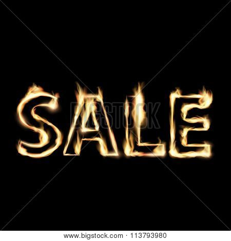 Sale. Stock Illustration.
