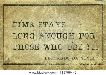Time Enough Davinci