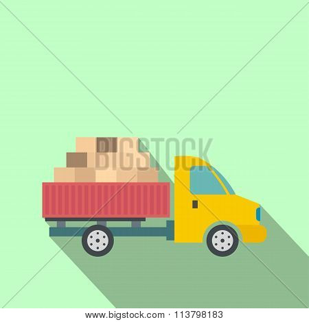 Cargo transportation by car