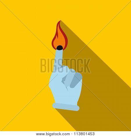 Burning Finger flat