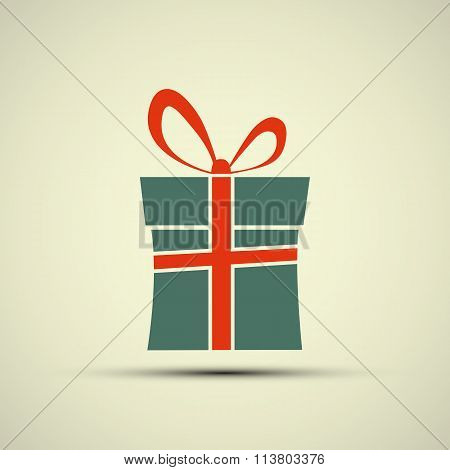 Icon Of Gift Box.