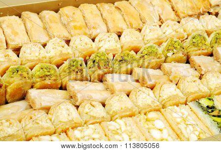 Lebanese fresh sweets