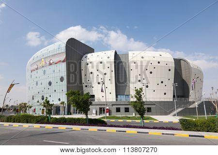 Duhail Handball Sports Hall In Doha, Qatar