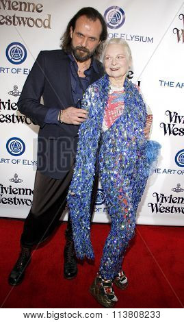 Vivienne Westwood at the Art Of Elysium's 9th Annual Heaven Gala held at the 3LABS in Culver City, USA on January 9, 2016.
