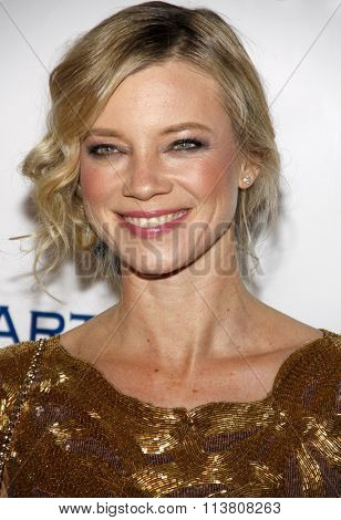 Amy Smart at the Art Of Elysium's 9th Annual Heaven Gala held at the 3LABS in Culver City, USA on January 9, 2016.