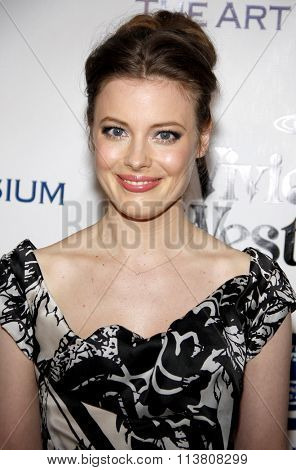 Gillian Jacobs at the Art Of Elysium's 9th Annual Heaven Gala held at the 3LABS in Culver City, USA on January 9, 2016.