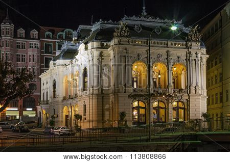 City Theatre,karlovy Vary,czech Republic