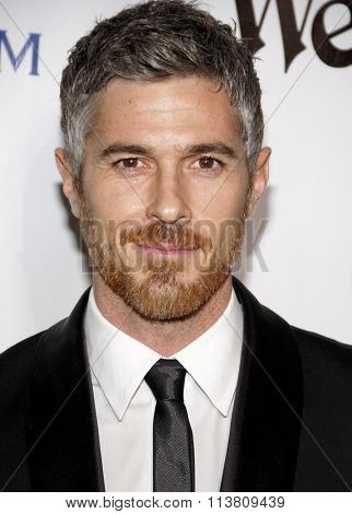 Dave Annable at the Art Of Elysium's 9th Annual Heaven Gala held at the 3LABS in Culver City, USA on January 9, 2016.