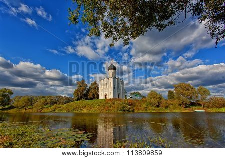 Russia, Church Of Intercession Upon Nerl River