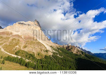 Italian Alps Panorama