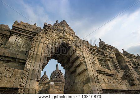 Arch At Borobudur