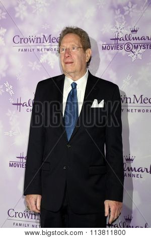 LOS ANGELES - JAN 8:  John Sterling at the Hallmark Winter 2016 TCA Party at the Tournament House on January 8, 2016 in Pasadena, CA