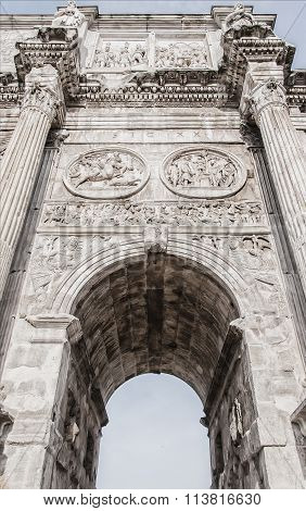 Arch Of Constantine Relief