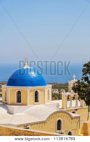 Fira Church Yellow And Blue