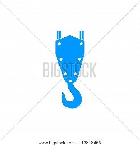 Crane Hook Vector Icon
