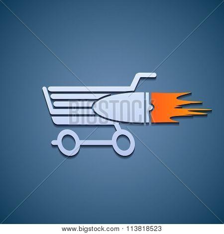 Icon Shopping Cart.
