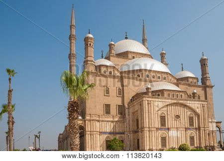 Mohammed Ali Or Alabaster Mosque,  Saladin Citadel, Cairo, Egypt