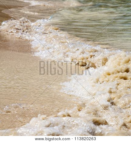 Abstract    Thailand Kho Tao Bay Coastline   South  Sea