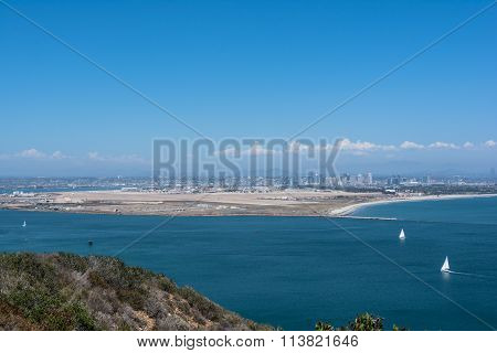 View of Coronado from Point Loma, California
