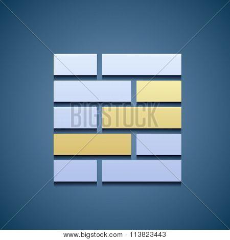 Icon Of Brickwork.