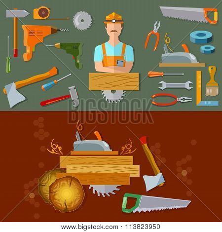 Professional Workspace Carpenter Tools