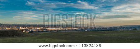 Mountain And Modern Panorama