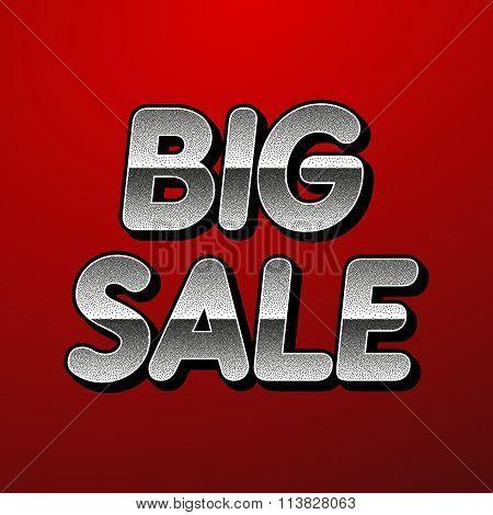 Vector illustration background big sale