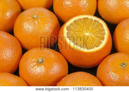 Background Of Tangerines