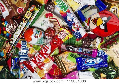 candies, chocolates, sweets