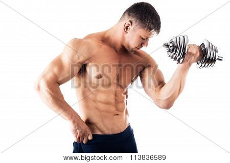 Powerful Muscular Man