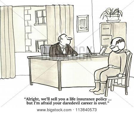 Life Insurance for Daredevil