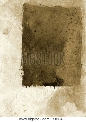 Grunge Papier sepia
