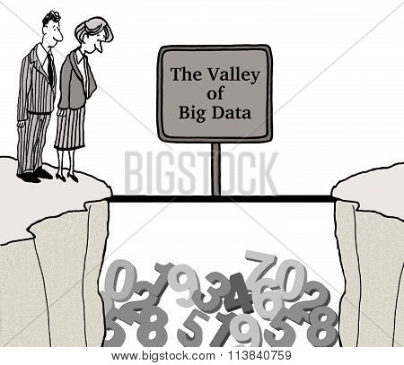 Valley of Big Data