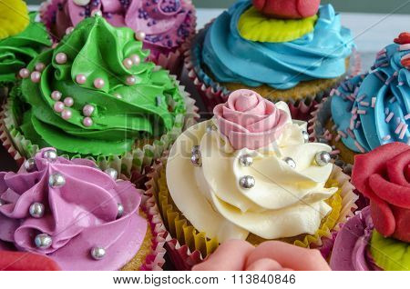 Cupcakes Decorated
