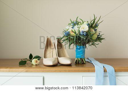 Beige Wedding Shoes